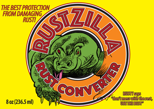Get the power of RUSTZILLA working for you - order RUSTZILLA rust removal now!