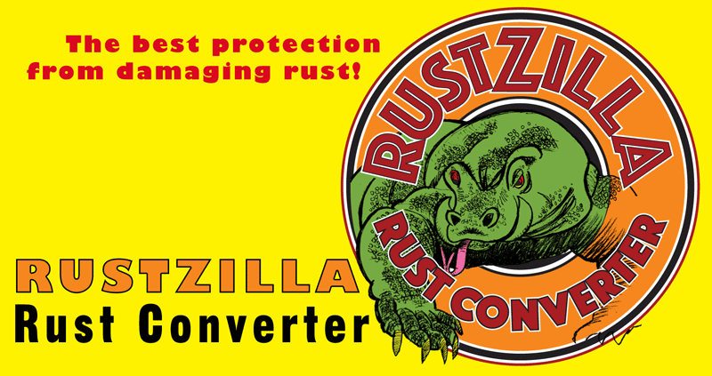 Rust Gorilla rust converter: put a GORILLA to work for you!