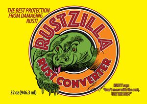 Rustzilla yellow quart rust remover & rust converter - buy now!